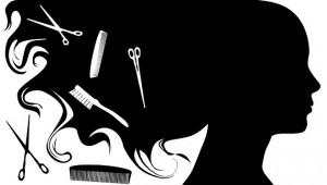 Business hair salon